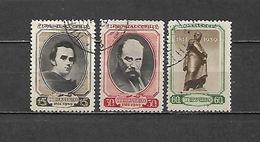 1939 - N. 711/13 USATI (CATALOGO UNIFICATO) - 1923-1991 USSR