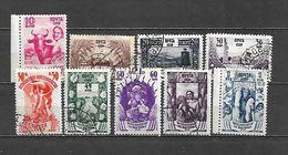 1939 - N. 714/23 USATI Meno Il N. 720 (CATALOGO UNIFICATO) - 1923-1991 USSR