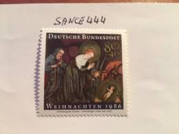 Germany Christmas 1986 Mnh - [7] Federal Republic
