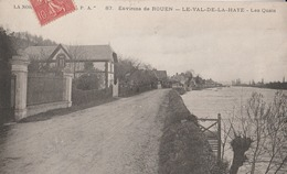 CPA    76  LE VAL DE LA HAYE LES QUAI    1907   A 69 - France