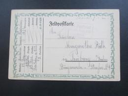 Feldpostkarte 1. WK 1916 Aus Der Soldaten Weihnachtsstifte Des Berliner Tageblattes.Ra3 Feld-Postbrief Res Inft Regt 202 - Germany