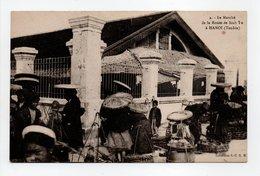 - CPA HANOÏ (Viêt Nam) - Le Marché De La Route De Sinh Tu (belle Animation) - Collection S. C. G. M. N° 4 - - Viêt-Nam