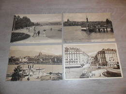Beau Lot De 60 Cartes Postales De Suisse  Genève     Mooi Lot Van 60 Postkaarten Van Zwitserland - Cartes Postales