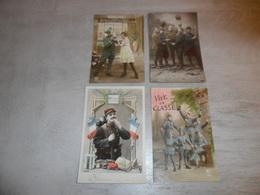 Beau Lot De 20 Cartes Postales De Fantaisie Soldats  Soldat     Mooi Lot 20 Postkaarten Van Fantasie Soldaat Soldaten - Postkaarten