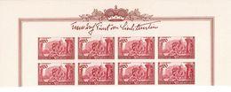 Liechtenstein 1939: Huldigungsfeier Zu 144-146 Mi 180-182 Yv 155-157 ** MNH Bogenrand Mit Signatur (Zumstein CHF 120.00) - Liechtenstein