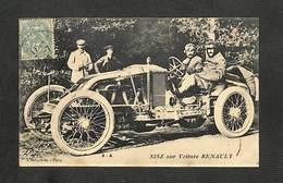AUTOMOBILES - SISZ Sur Voiture RENAULT - 1906 - Sport Automobile