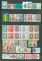 Finland LOT Of 57 Incl. 10 SETS Views Red Cross Sports More GOOD BOB..MNH Cat $85  WYSIWYG A04s - Finland