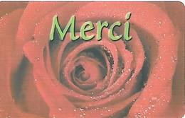 Prepaid: MultiTel - Merci, Rose - Switzerland