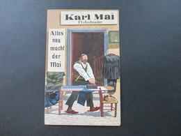 Germania 1911 Künstler AK Karl Mai Flickschneider Alles Neu Macht Der Mai. Hamburg - Germania