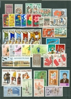 Niger Lot Of 47 With 7 Sets JFK Paintings Views Flowers Sports More MNH Cat $47+ WYSIWYG A04s - Niger (1960-...)