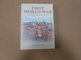 LIVRE RECUEIL CARTES POSTALES ANGLAISES WW1 - 1914-18