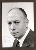 Cinema Teatro Televisione - Autografo Dell'attore Ernesto Calindri - Anni '60 - Autografi