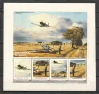 Grenadines St Vincent (Young Island) MNH Sheet A7 WORLD WAR 2 - BATTLE OF BRITAIN - Avions