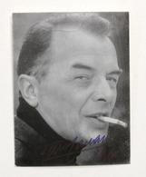 Cinema Teatro Televisione - Autografo Dell'attore Tino Carraro - 1967 - Autografi