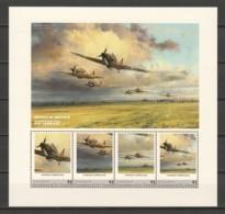 Grenadines St Vincent (Young Island) MNH Sheet A5 WORLD WAR 2 - BATTLE OF BRITAIN - Aviones