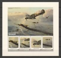 Grenadines St Vincent (Young Island) MNH Sheet A3 WORLD WAR 2 - BATTLE OF BRITAIN - Aviones