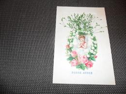 Ange ( 136 )    Engel   Angelot  Carte Avec Ajoutis  Découpis  Découpi - Anges