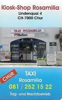 Mobile Recharge: MBF-Swiss - Kiosk-Shop Rosamilia - Switzerland