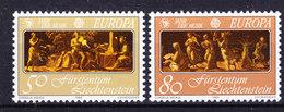 Europa Cept 1985 Liechtenstein 2v ** Mnh (43453) - 1985