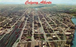 CALGARY-ALBERTA- VIAGGIATA 1966 - Calgary