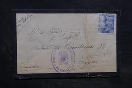 ESPAGNE - Enveloppe De San Sébastien Pour La France En 1940 Avec Cachets De Censures - L 34433 - Marcas De Censura Nacional