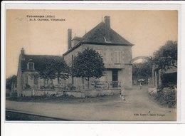 CRESSANGES : M.A. Olivier, Veterinaire - Etat - France