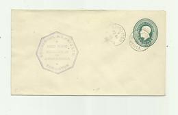 CANADA -  Entier Postal  2 Cents Vert Cachet Commercial Airways Ltd Vignette Dos - Lettres & Documents