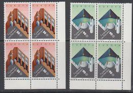 Europa Cept 1987 Liechtenstein 2v Bl Of 4 (corners) ** Mnh (43453C) - 1987