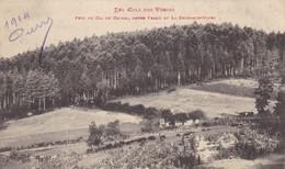 88. LES COLS DES VOSGES. CPA. PRES DU COL DE CHIPAL ENTRE FRAIZE ET LA CROIX AUX MINES. TEXTE MILITARIA DU 7/12/1914 - France