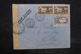 COTE D'IVOIRE - Enveloppe De Sassandra Pour Alger En 1940 Avec Contrôle Postal - L 34442 - Costa De Marfil (1892-1944)