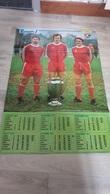 Poster Recto-verso Onze Calendrier 1977 - Soccer