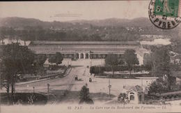 1050 PAU  ECRITE VERSO - Pau