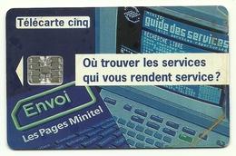 Francia - Tessera Telefonica Da 5 Units - T615   France Telecom - France