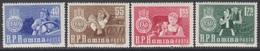 ROUMANIE 1963 4 TP Campagne Mondiale Contre La Faim N° 1897 à 1900 Y&T Neuf ** - 1948-.... Republiken