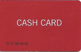 Schweiz: Grand Casino Luzern - Cash Card - Casinokarten