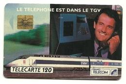 Francia - Tessera Telefonica Da 120 Units - T617   France Telecom - Trains