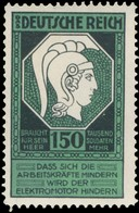 Deutsche Reich Braucht Für Sein Heer 150 Tausend Soldaten Mehr Reklamemarke - Erinnofilia