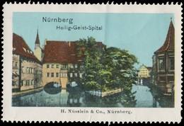 Nürnberg: Heilig-Geist-Spital Reklamemarke - Cinderellas