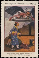 Berlin : Aladin Oder Die Wunderlampe Reklamemarke - Vignetten (Erinnophilie)