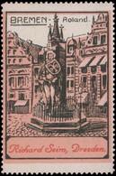 Dresden: Roland In Bremen Reklamemarke - Cinderellas