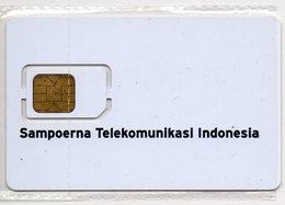 INDONESIA - PT SAMPOERNA TELEKOMUNIKASI INDONESIA - WHITE GSM CARD -SCARCE - RRR - MINT - Indonesia