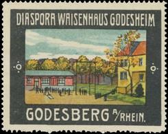 Bad Godesberg: Diaspora Waisenhaus Godesheim Reklamemarke - Cinderellas