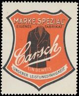 Düsseldorf: Carsch Marke Spezial Reklamemarke - Cinderellas