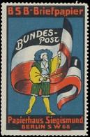 Berlin: Bundespost Reklamemarke - Vignetten (Erinnophilie)