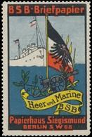 Berlin: Heer Und Marine Reklamemarke - Vignetten (Erinnophilie)