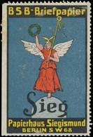 Berlin: Sieg Papier Reklamemarke - Vignetten (Erinnophilie)