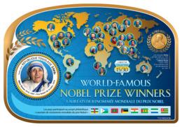 Togo 2019 Mother Teresa Nobel Peace Prize S/S TG190243b - Famous People