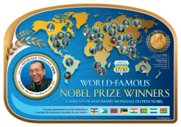 Togo 2019 Liy Xiaobo Nobel Peace Prize S/S TG190243d - Famous People