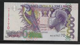 Sao Tomé Et Principe - 5000 Dobras - Pick N°65a - NEUF - Sao Tome En Principe