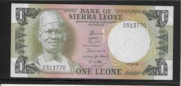Sierra Leone - 1 Leone - Pick N°5d - SPL - Sierra Leone